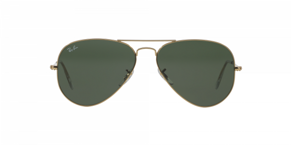 ray-ban pilotsolbriller i metall for unisex fra eye factory