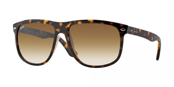firkantet ray-ban solbriller injected for unisex fra eye factory