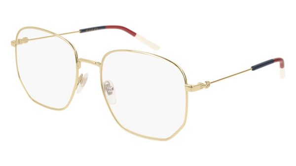 BRILLE - DAME - Square - METALL